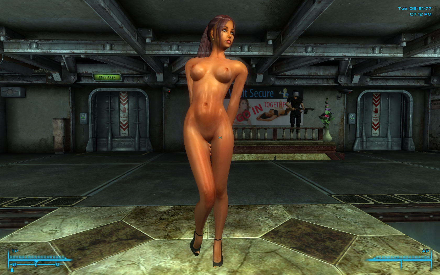 Naked girls playing fallout #1