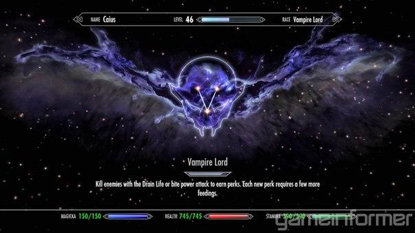 скачать мод на скайрим на новые способности вампира лорда - фото 4