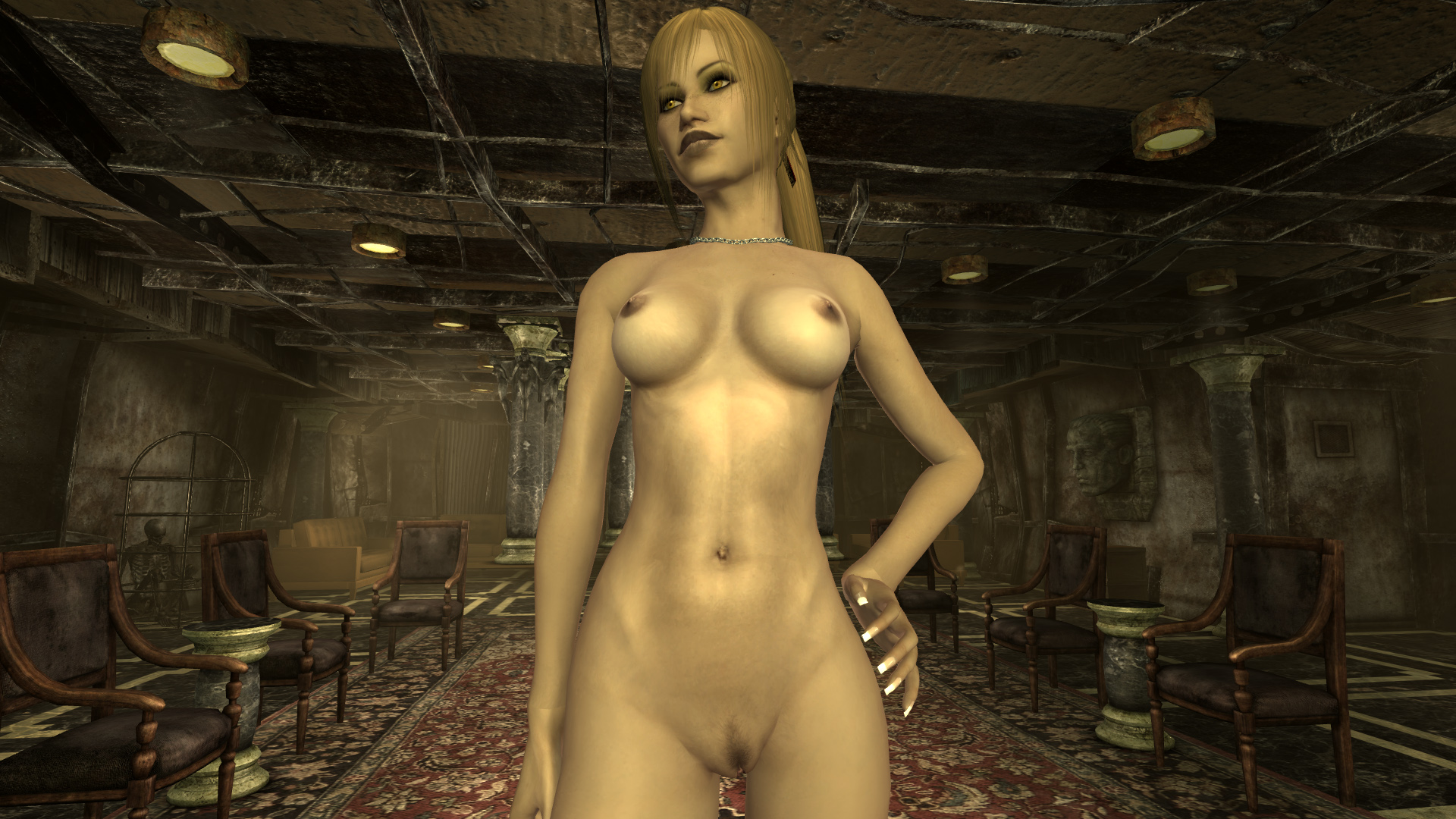 Girls naked in fallout 3 nsfw download