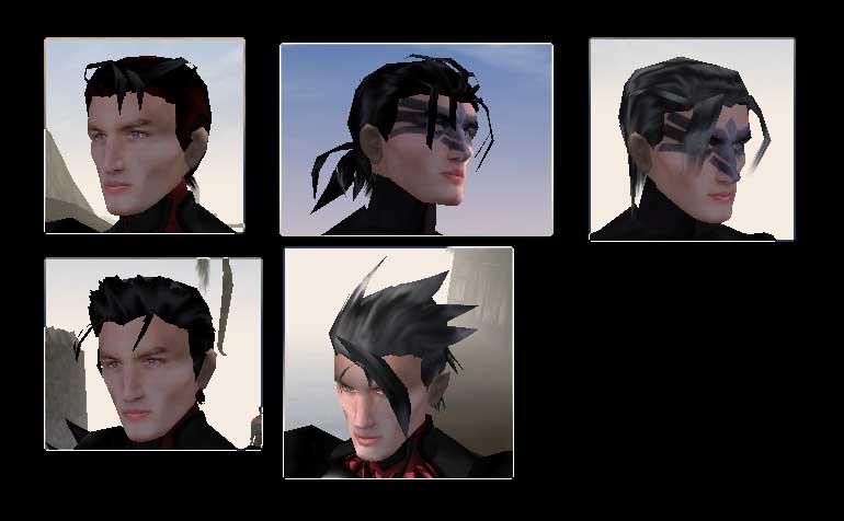 Причёски мужские аниме
