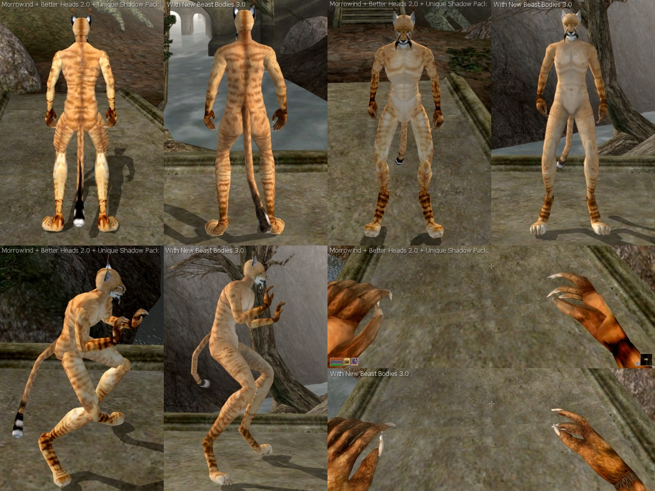 Morrowind nude mod better bodies naked drunk doll