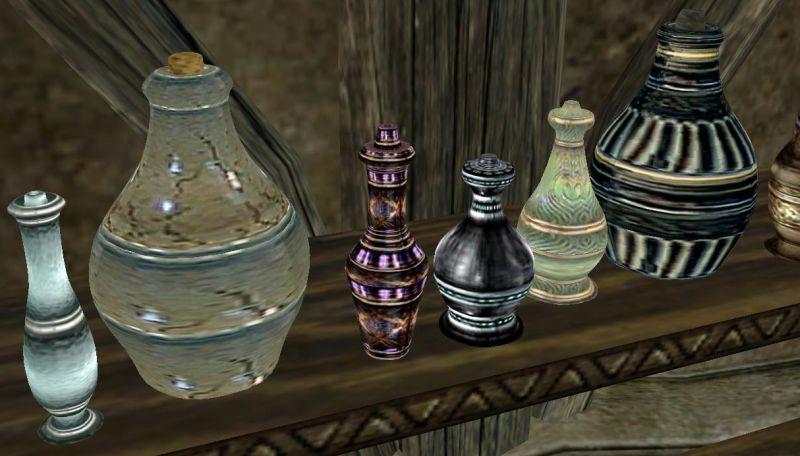 Menorra. Morrowind. Potion Items: Этот мод включает в себя улучшенные мод